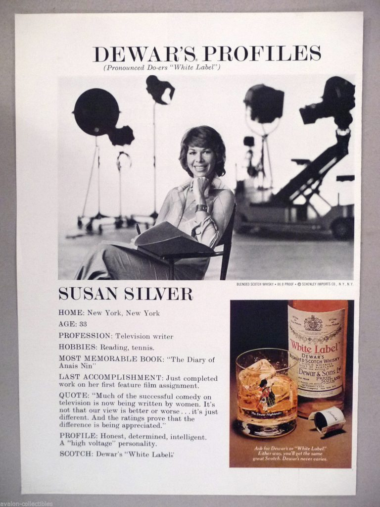 Susan Silver has written for some of the greatest sitcoms of all time, creating laugh lines for Mary Tyler Moore, Sarah Jessica Parker, Beatrice Arthur, Bob Newhart, and The Partridge Family.