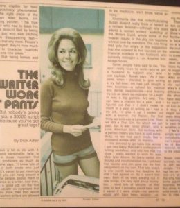 TV GUIDE - Susan Silver in Hot Pants